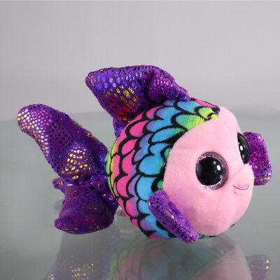 "6""Beanie Boos Glitter Eyes Plush Stuffed Animals Toys Kids Xmas Gift Funny Toys~"