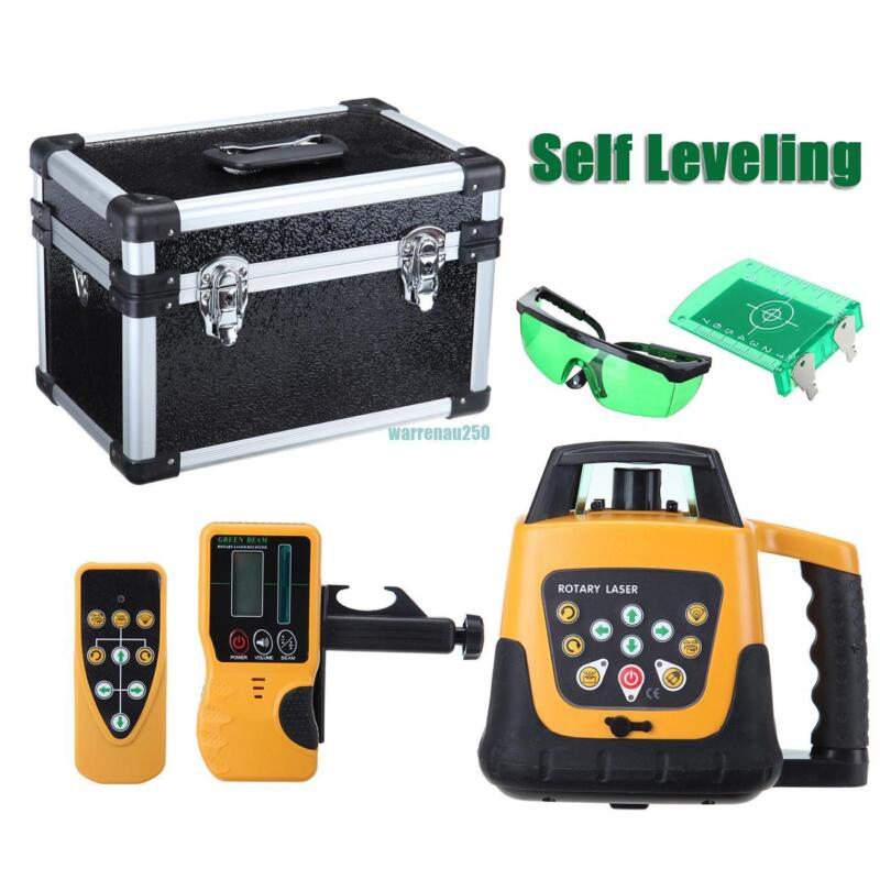 500m Range Automatic Laser Level Rotary Rotating Self Leveling Green Beam 360