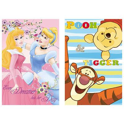 Disney Princess Winnie the Pooh Fleecedecke Kuscheldecke Babydecke 100 x 150 cm