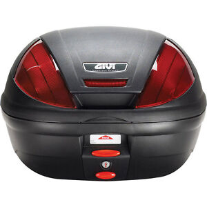 GIVI MONOLOCK E370  39 litre TOP CASE TRUNK + BASEPLATE