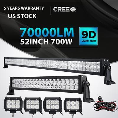 52INCH 700W LED Light Bar Combo+ 22