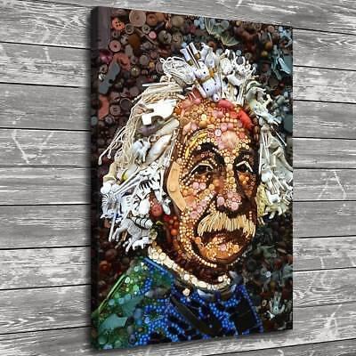 Button Art Einstein 16x22