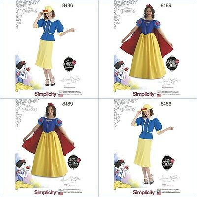Disney Princess Snow White Halloween Costume (Disney Princess Halloween Costume Snow White Simplicity Pattern Miss New )