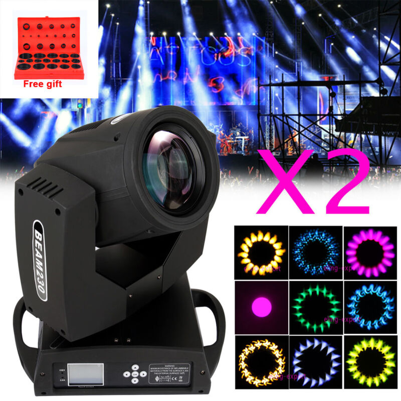 2x 7r Osram 230w Moving Head Beam Light 16prism Dj Disco Show Club Party Xmas