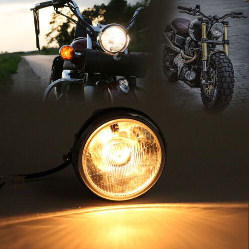"""12V 7"""" LED Motorrad  Scheinwerfer Rund Scheinwerfer für Yamaha YBR125 2002-2013"""