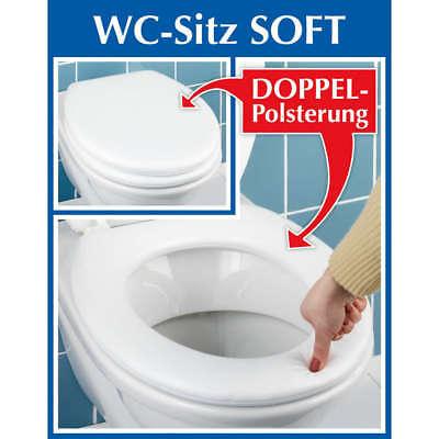 WC-Sitz SOFT, weiss