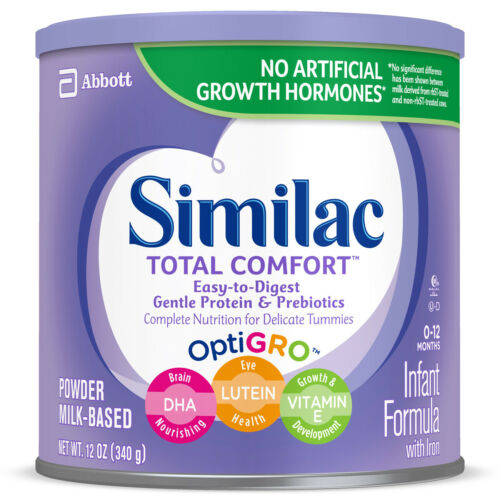 18 cans Similac Total Comfort