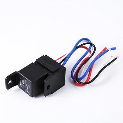 Car Auto DC 12V Volt 30//40A Automotive 4 Pin 4 Wire Relay/&Socket 30amp//40amp P0H