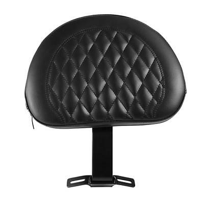 Motorcycle Rider Backrest (US Motorcycle Adjustable Driver Rider Backrest Fit For Heritage Softail)