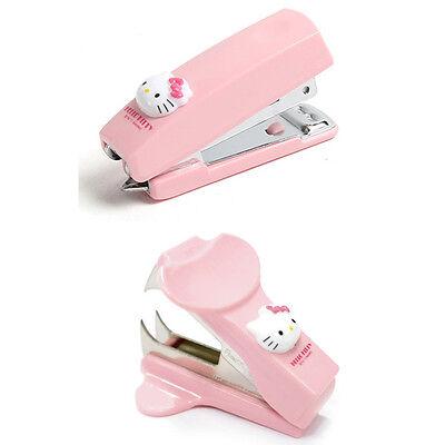 Hello Kitty Mini Stapler And Staple Remover Cute Stationery Desk Office School
