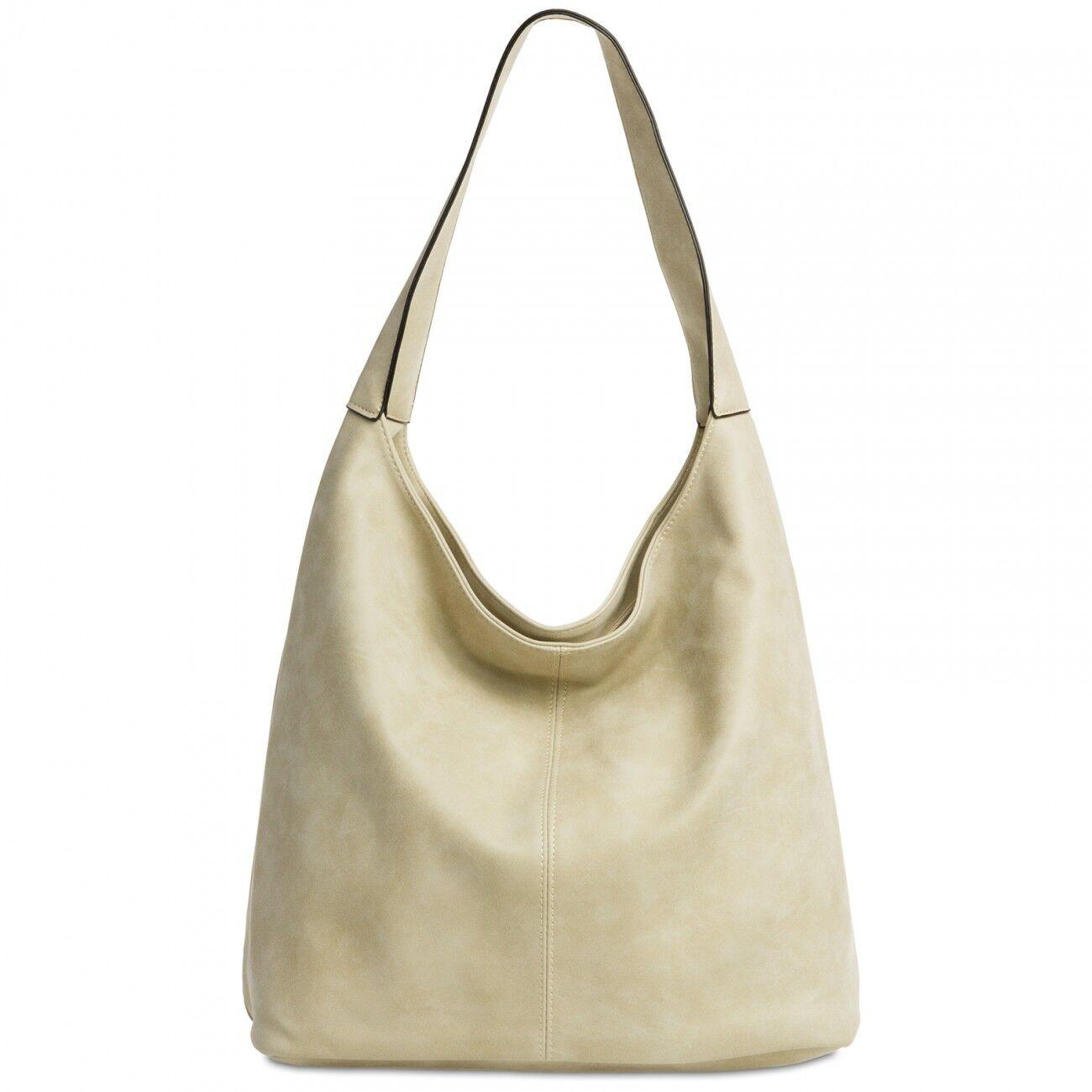 CASPAR TS1015 Damen Vintage Tasche Handtasche Schultertasche Shopper Groß