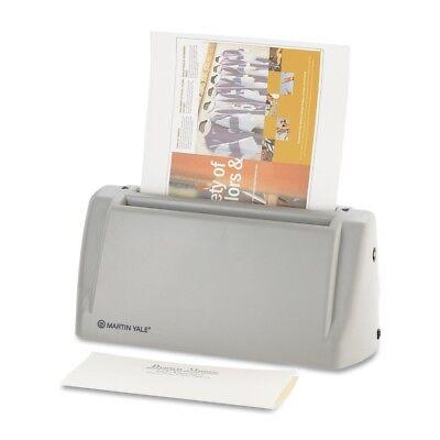 Martin Yale Desktop Letter Folder - 2200 Sheetshour - C Fold - Gray P6200
