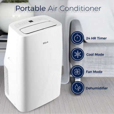 Quiet Portable Air Conditioner A/C Cooling Fan Remote for Rooms Up To 350 Sq. Ft