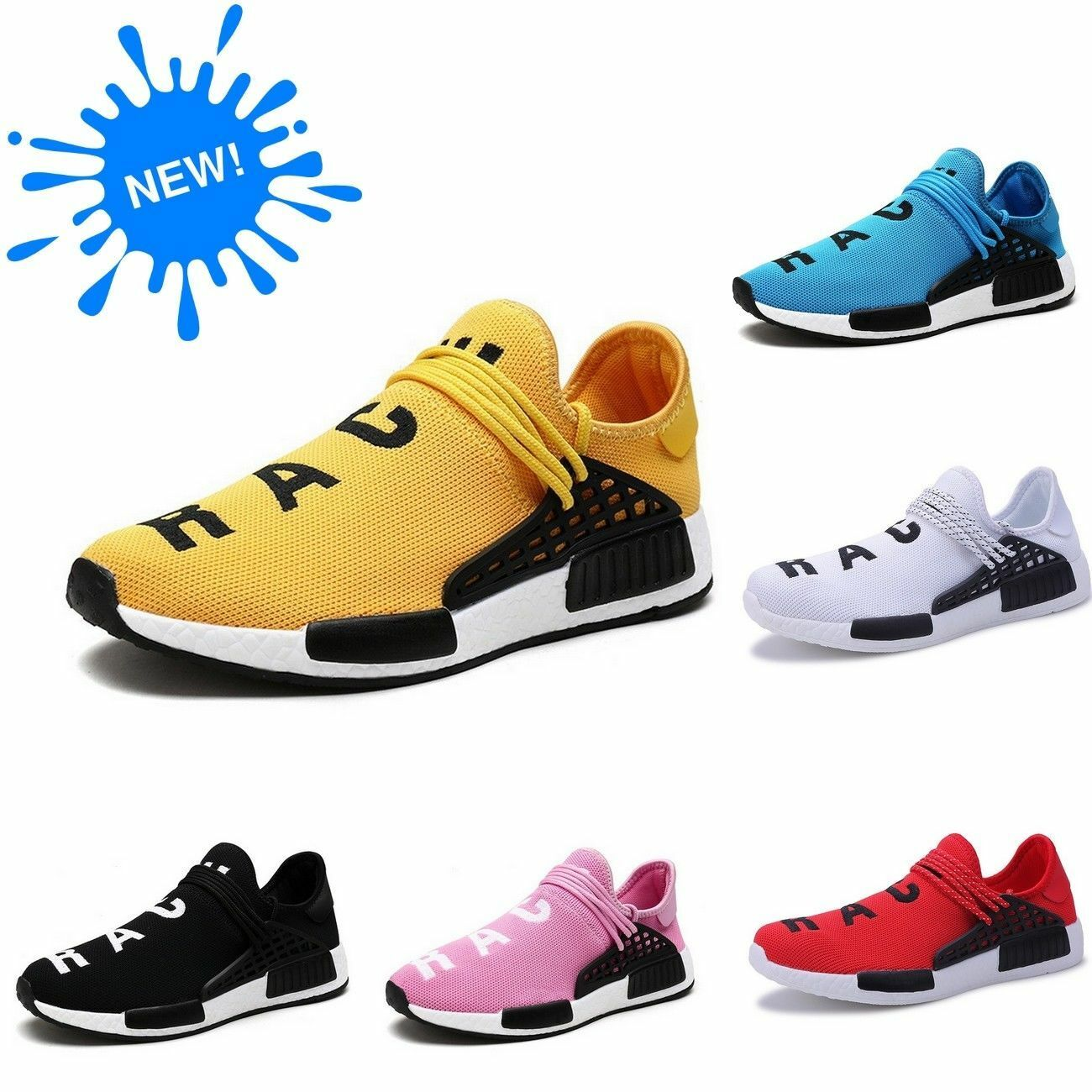 8b79d64f5 Details about New Human Race Sports Running Shoes Top Athletic NMD Mens  Sneakers High Quality