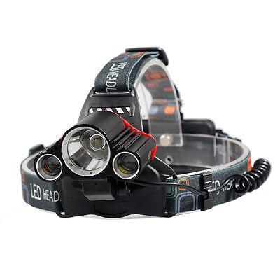 35000LM 3X CREE XM-L 4Modes T6 LED Headlamp Head light Torch Flashlight Outdoors