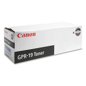 Canon Copier Toner for Imagerunner 7086/7095/7105 Black GPR19