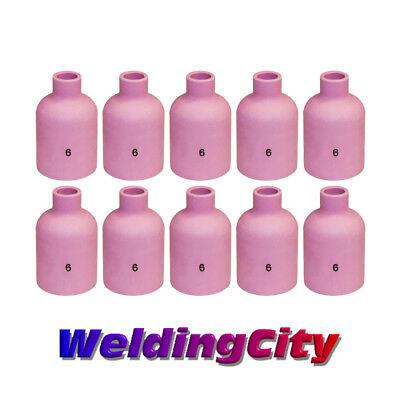 Weldingcity 10-pk Tig Welding Large Gas Lens Ceramic Cup 57n75 6 Us Seller