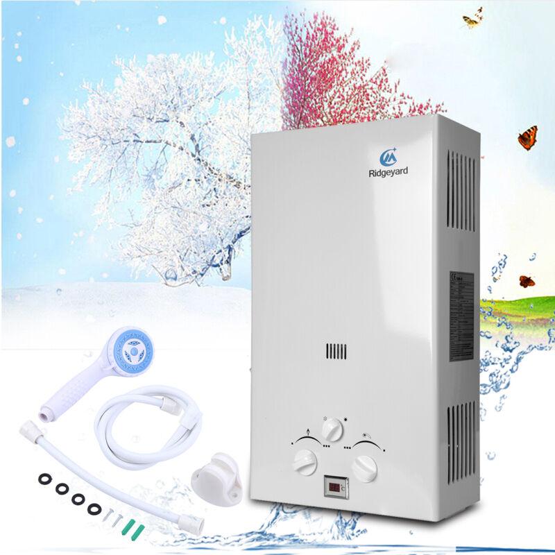 10L LPG Propane Gas Durchlauferhitzer Warmwasserbereiter Wasserspeicher CE