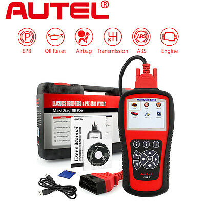Autel Maxidiag Elite MD802 OBD2 Diagnostic Tool Code Reader Scanner + DS Model
