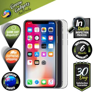 Apple iPhone X A1865 64GB 256GB Space Grey Silver Unlocked Smartp
