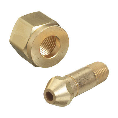Cga-300 Nut 2 Nipple Regulator Inlet Fittings Commercial Acetylene