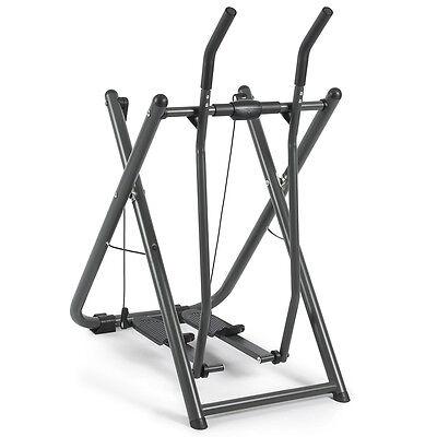 Folding Elliptical Glider Machine Sports Fitness Exercise Trainer w/Pedometer