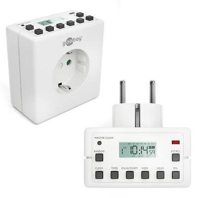Digitale Zeitschaltuhr Steckdose Wochenzeitschaltuhr 10 Programme 230V 16A 3600W