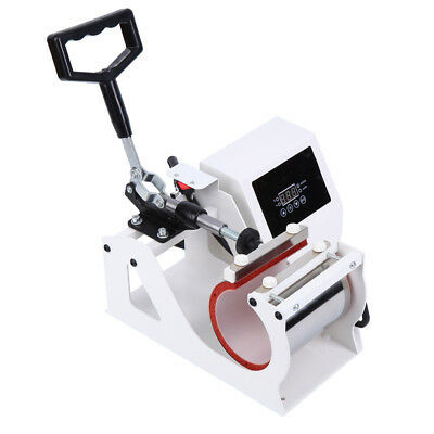 Heat Press Transfer Sublimation Machine For Cup Coffee Mug 11oz Digital Display