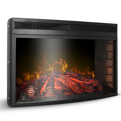 33 3d infrared quartz electric fireplace insert
