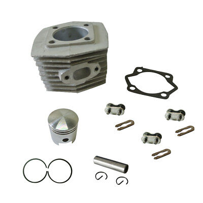 Cylinder&Piston&Piston Ring&Pin Fits 66cc 80cc 2 Stroke Engine Motorized Bicycle 2 Stroke Piston