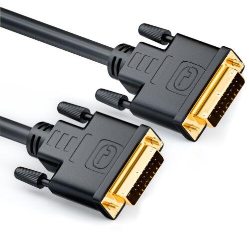 3m DVI zu DVI Kabel vergoldet DUAL LINK 3 m DVI D