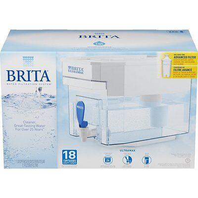 BRITA Ultramax Water Filter Pitcher Dispenser Filtration ...