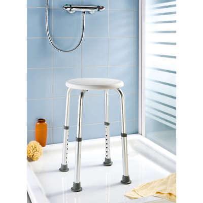 Dusch- und Wannenhocker höhenverstellbar, weiss