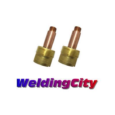 2-pk Tig Welding Large Gas Lens Collet Body 45v116 116 Torch 171826 Usa