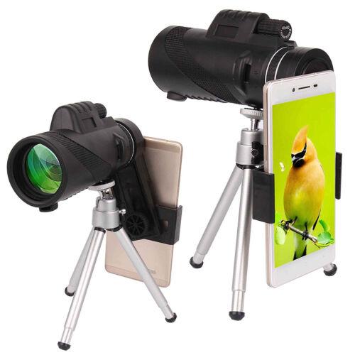 40x60 hd zoom optical lens camera monocular