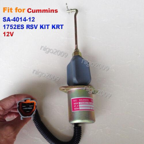 1752ES RSV KIT KRT Solenoid Valve SA-4014-12 12V Fit for Cummins Mitsubishi