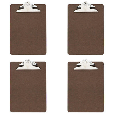 Officemate Recycled Wood Clipboard Memo Size 6x9 3 Clip 83103 4 Packs