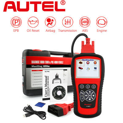 Autel MaxiDiag Elite MD802 + DS Model Auto Diagnostic Tool Code Reader Scanner