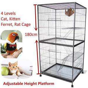 1.8M Tall Cat Cage, Ferret Cage also suitable for Parrots RRP$599 Dandenong South Greater Dandenong Preview
