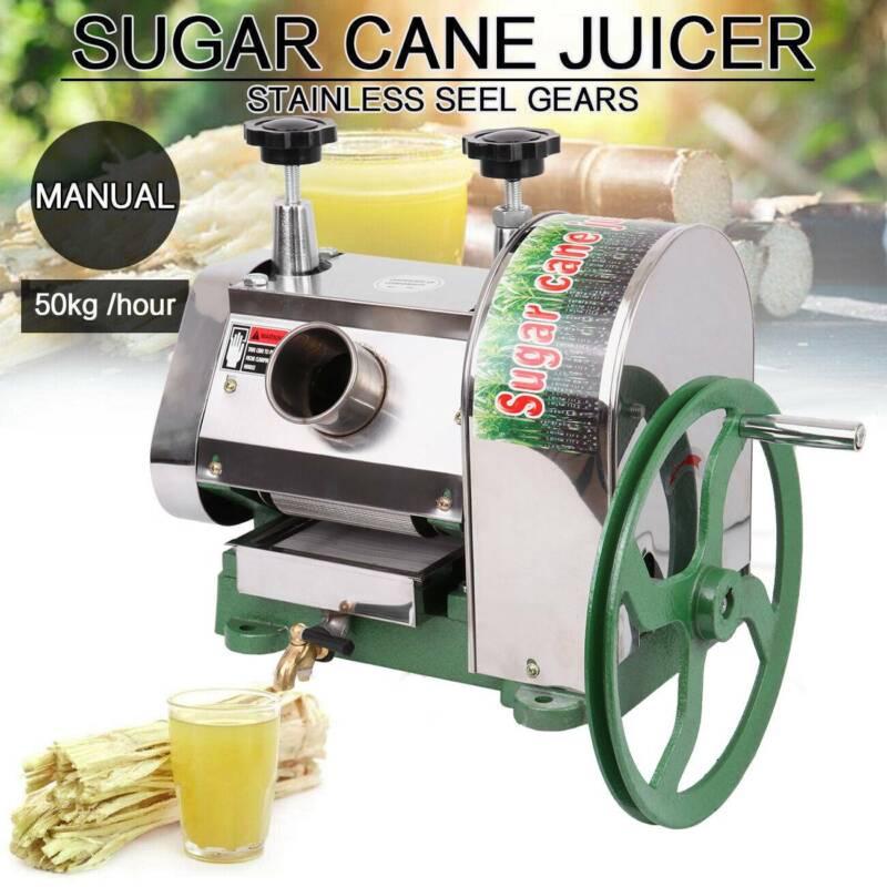 Samger 50kg/h Manual Sugar Cane Press Juicer Machine Commerc