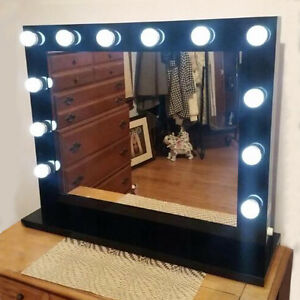 hollywood mirror ebay. Black Bedroom Furniture Sets. Home Design Ideas