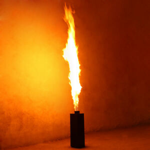 2PC 200W DMX Fire Spray Effect Flame Thrower DJ Stage Projector Machine Party