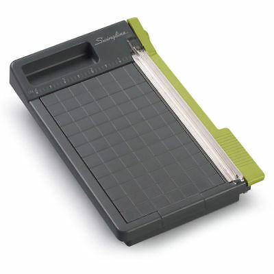 Compact Photo Paper Trimmer 6in Picture Guillotine Blade Office Cutter 5 Sheet
