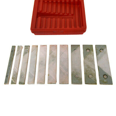 Parallels Ground Hardened Pairs 18 X 6 Long 10 Sizes For Milling Or Marking