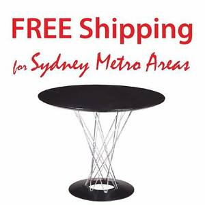 30% OFF - Isamu Noguchi Style Cyclone Dining Table (dia 100cm) Zetland Inner Sydney Preview