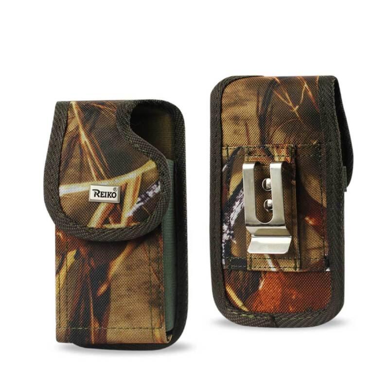 Camo Tactical Nylon Rugged Case fits LG G7 ThinQ