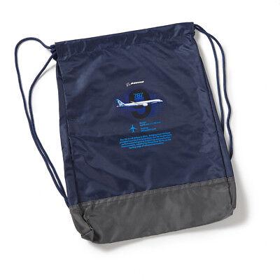 Boeing 787 Cinch Sack NEU Rucksack / Schuhbeutel / Sportbeutel orig. Boeing
