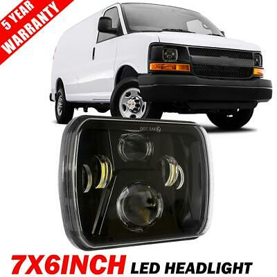 "1PC 110W 5x7"" 7x6"" LED Headlight High Low Beam for Chevrolet Express Cargo Van"