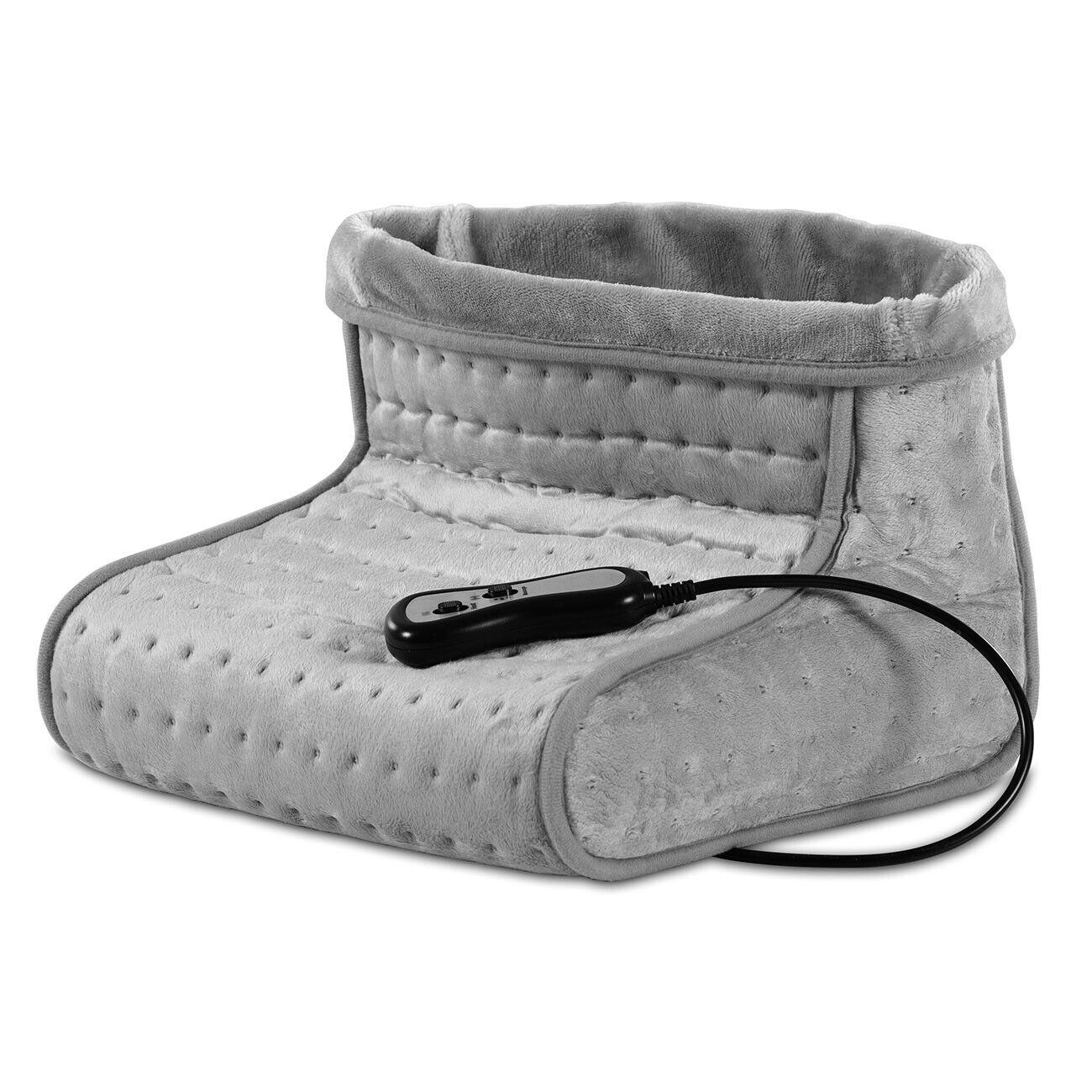 Fußwärmer mit Massage,elektrisches Fußmassagegerät mit Wärmefunktion, waschbar