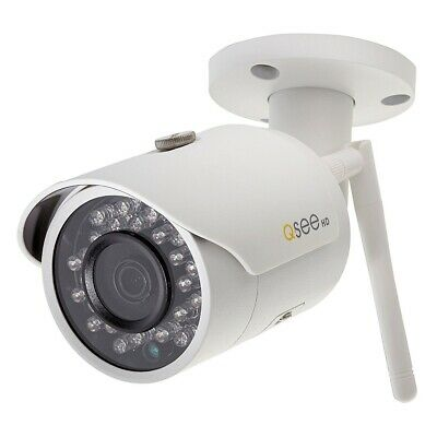 Q-see QCW3MP1B-R Wi-Fi 3MP Bullet Security HD Camera with 100 Feet Night Vision